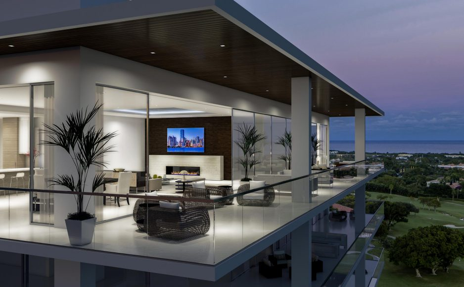 The Penthouse Collection Expansive Terrace